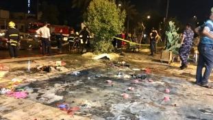 Fagyizó előtt robbant egy autóba rejtett pokolgép Bagdadban