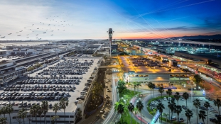 Privát luxusterminált kaptak a hírességek Los Angeles repülőterén