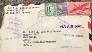 72 év után ért célba egy elveszett szerelmes levél az Egyesült Államokban