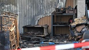 Második világháborús fegyverek robbantak fel egy házban Németországban