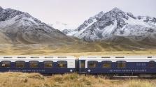Luxusvonat a világ tetején – az inka birodalom központján száguld át az Andok expressz