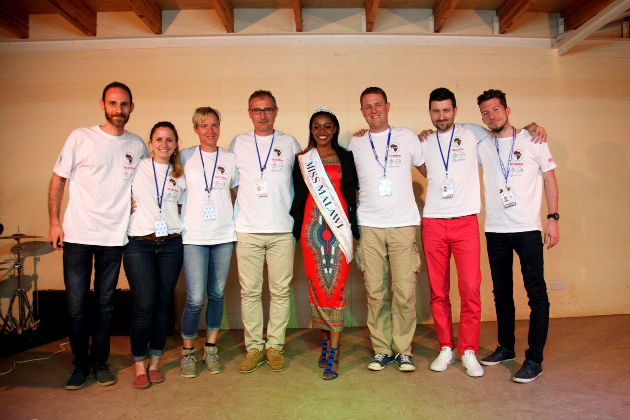 Malawi szépségkirálynője is felkereste a magyar orvosokat.