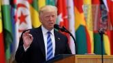 Trump az Iszlám Államot és Iránt bírálta a muzulmán csúcstalálkozón
