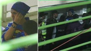 Férfinak öltözött, hogy meccsre mehessen – letartóztatták