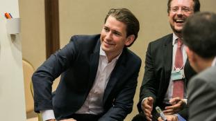 Macront kívánja követni Kurz, aki hamarosan Ausztria kancellárja lehet