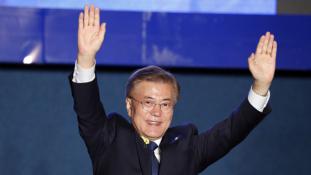 Dél-Korea új elnöke kész ellátogatni Észak-Koreába