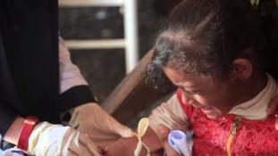 35 másodpercenként fertőz meg újabb gyereket a kolera Jemenben