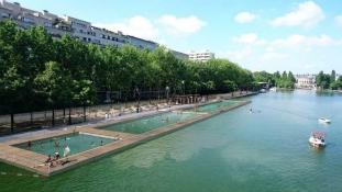 Ingyen csobbanhat ezeken a helyeken júliustól, ha Párizsban jár