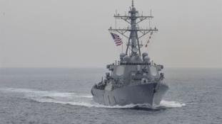 Amerikai haditengerészek tűntek el egy balesetben – videó