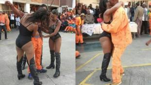 Botrány! Szatírokat szórakoztattak a sztriptíztáncosnők egy börtönben
