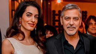Ezért van szükségük az egyhetes Clooney-ikreknek testőrökre