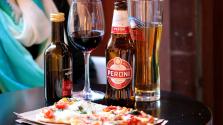 Sör és pizza – halálos kombó a hőségben