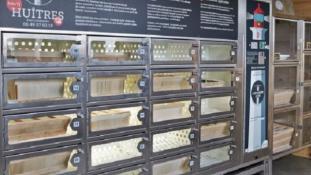 Franciaországban már automatából is vehet osztrigát