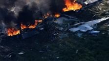 Katonai gép katasztrófája Mississippi államban – 16 halott (videó)