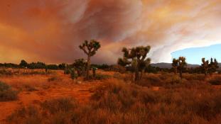 Tüzes pokol Kaliforniában – videó