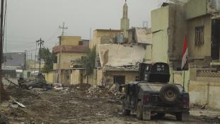 Kamikaze kislányokat küld a frontra az Iszlám Állam Moszulban