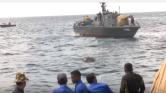 Elefánt a tengerben – a haditengerészet mentette ki (videó)