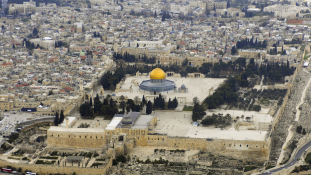 Főmufti fogságban – lövöldözés a Templom-hegyen Jeruzsálemben