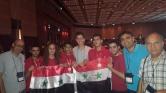 Leszerepelt a matekolimpián a szírai elnök fia