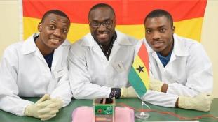 Ghánai műhold kering a Föld körül