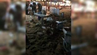Emberekkel teli strandot lőttek Líbiában