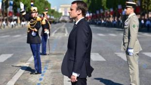 Macron: soha semmi nem választhat el az Egyesült Államoktól!