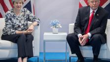 Trump: nagyon gyorsan megköthető a kereskedelmi egyezmény Nagy-Britanniával
