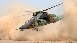 Lezuhant a németek egyik Tigrise Maliban, a  pilóták is odavesztek
