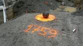 Egy 258 éves ágyúgolyót találtak Kanadában