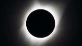 Így nézett ki a napfogyatkozás az űrből