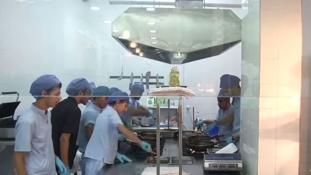 Orvosok nyitottak kórházéttermet Egyiptomban