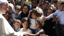 Különleges migránsvízumot szeretne Ferenc pápa