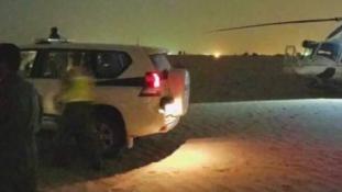 Sivatagi mentőakció – videó