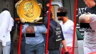 Beolvasztották a Berlinben ellopott százkilós arany érmét