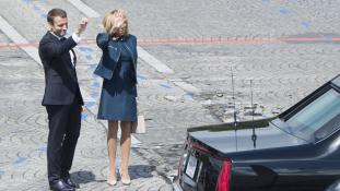 A férjéről (is) nyilatkozott a francia First Lady