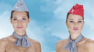 Majdnem meztelen hölgyek és urak a kazah reklámban – videó