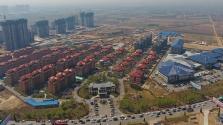 Minta kertváros Peking közelében, 525 milliárd euróért
