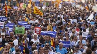 Nem félek! – félmilliós tüntetés Barcelonában a terror ellen