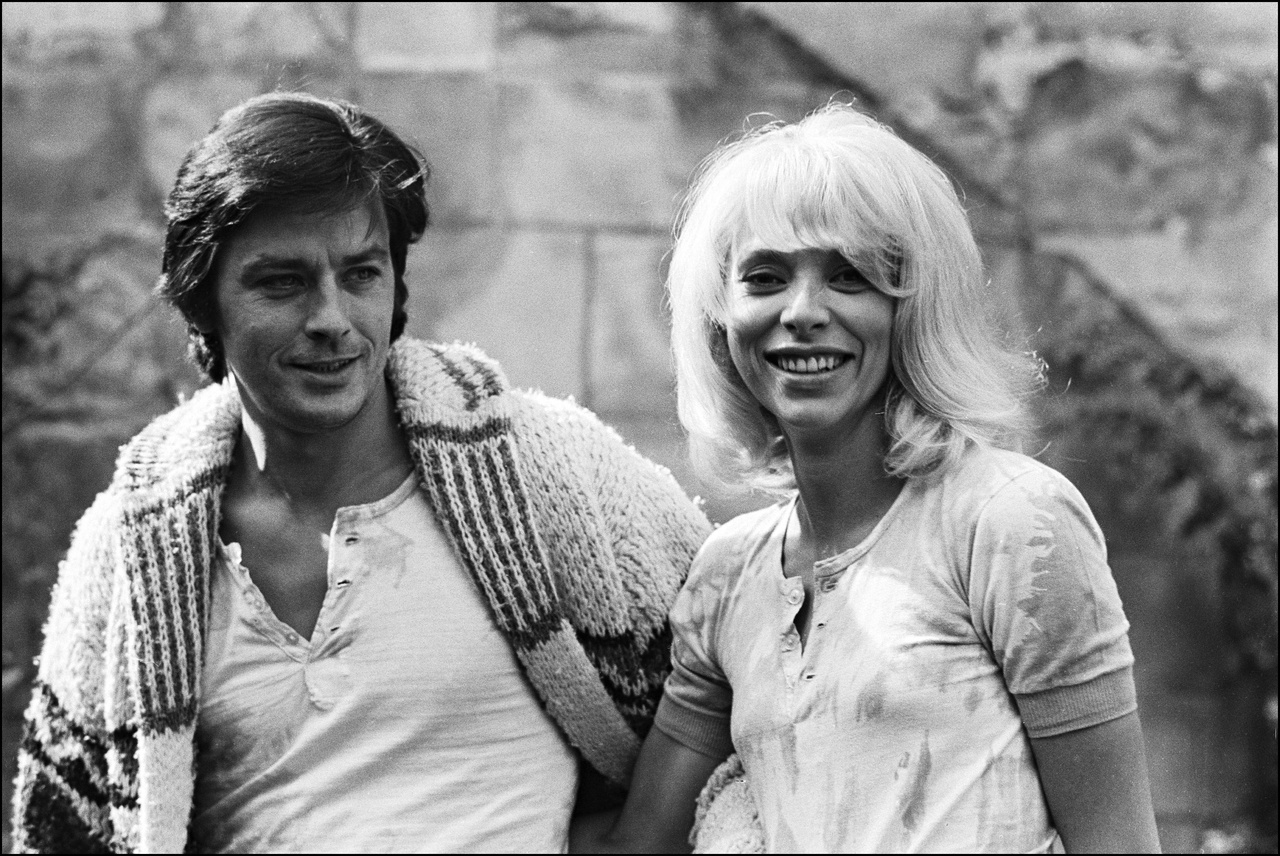 """00/00/1969. TOURNAGE DE """"MADLY"""" DE ROGER KAHANE"""