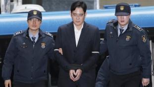 Öt év börtön a Samsung trónörökösnek korrupcióért