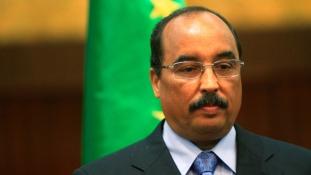 Bebetonozná magát az elnök Mauritániában