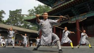 Harcművészeti vetélkedő a Shaolin kolostorban – videó