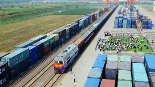 Új Selyemút: tehervonat Kína kellős közepéből Magyarországon át Münchenbe