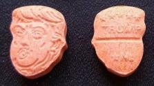Ecstasy Trump fejével Németországban
