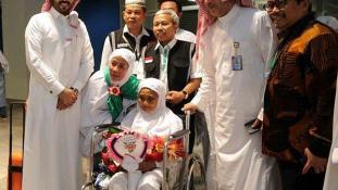 104 éves a legidősebb mekkai zarándok