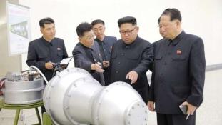 Hidrogénbombát próbált ki Észak-Korea