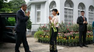 Mianmar Nobel-békedíjas vezetője nem megy az ENSZ-be