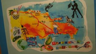 Kiállítás Dominikáról a Zászlómúzeumban