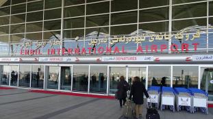 Holnaptól már nem repülnek külföldi gépek Erbilbe