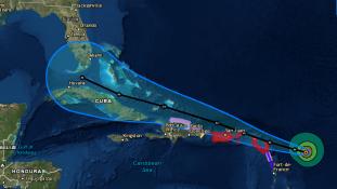Irma, a Harveynél is erősebb hurrikán -videó